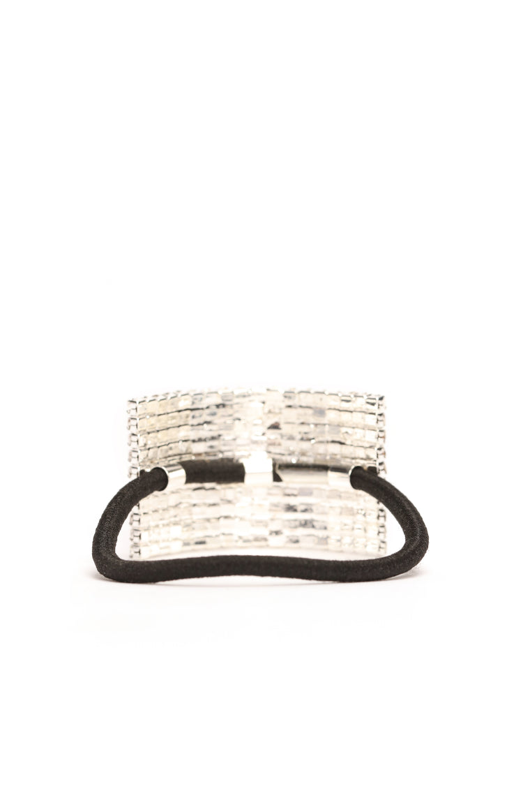 Hair And Now Hair Band Cuff - Silver