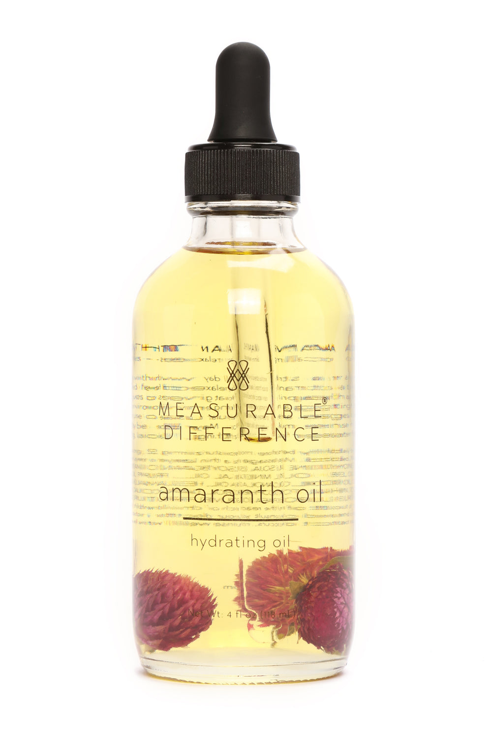 Measurable Difference Amaranth Hydrating Oil