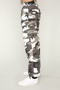 Thomas Cargo Pants - Grey