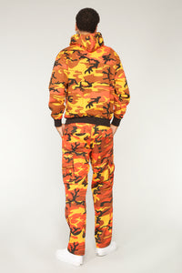 Thomas Cargo Pants - Orange