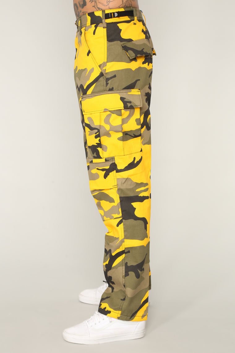 Thomas Cargo Pants - Yellow