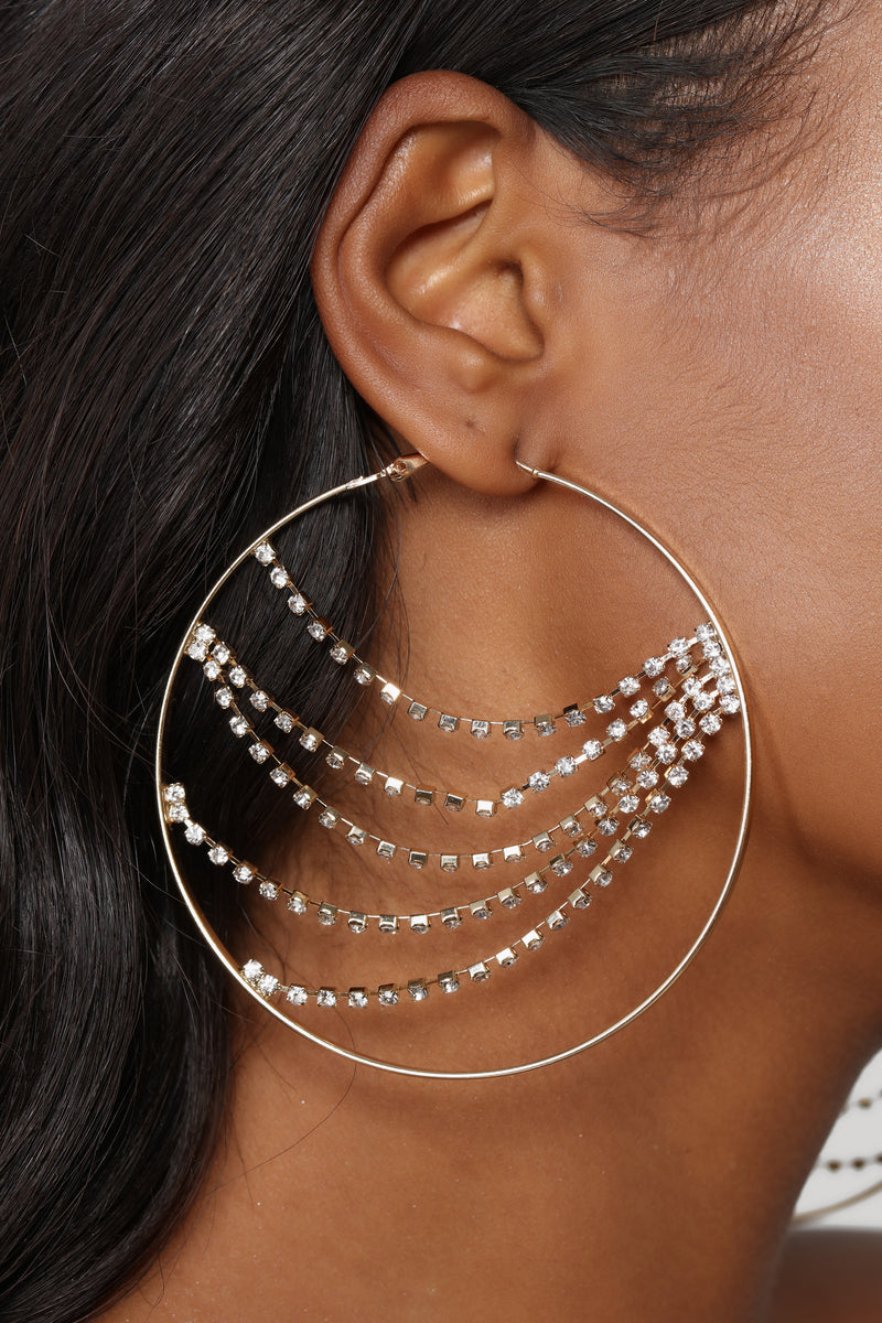 Icy Hoops - Gold