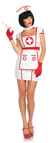 Hospital Heartbreaker Costume - White