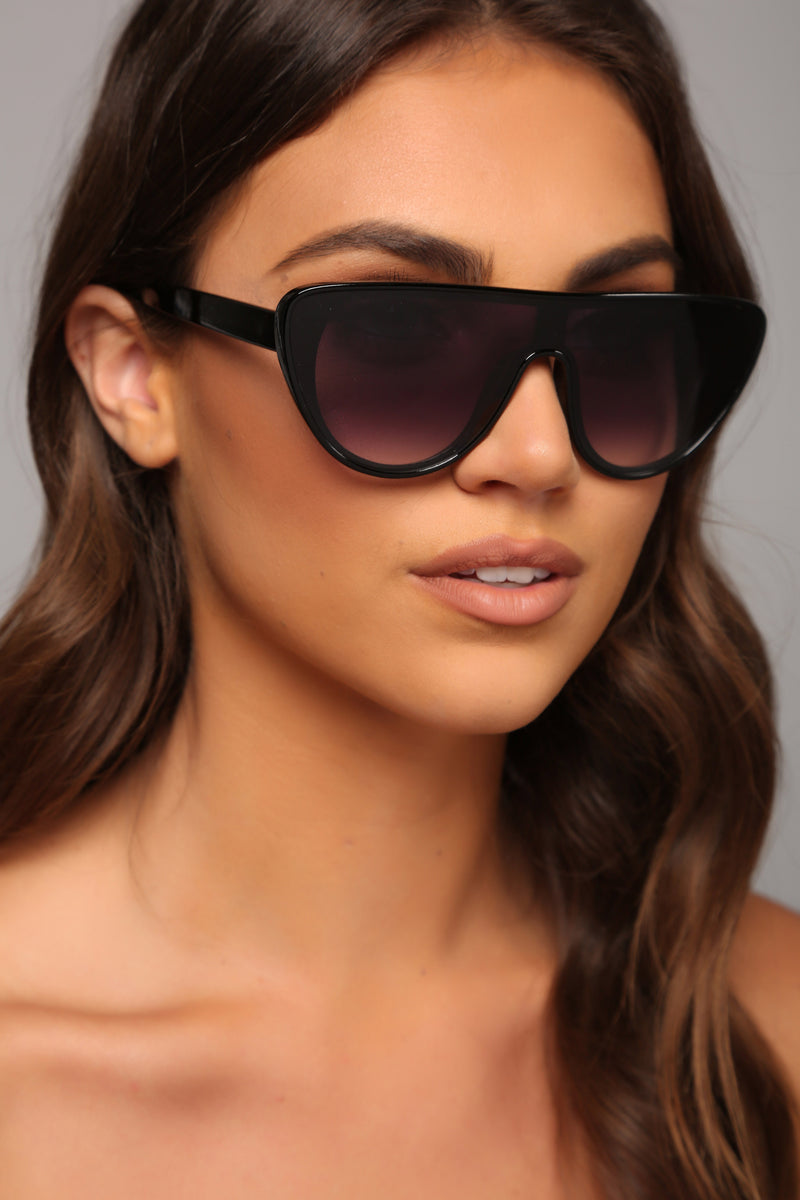 Seeing Visions Sunglasses - Black