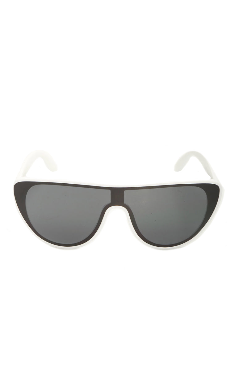 Seeing Visions Sunglasses - White