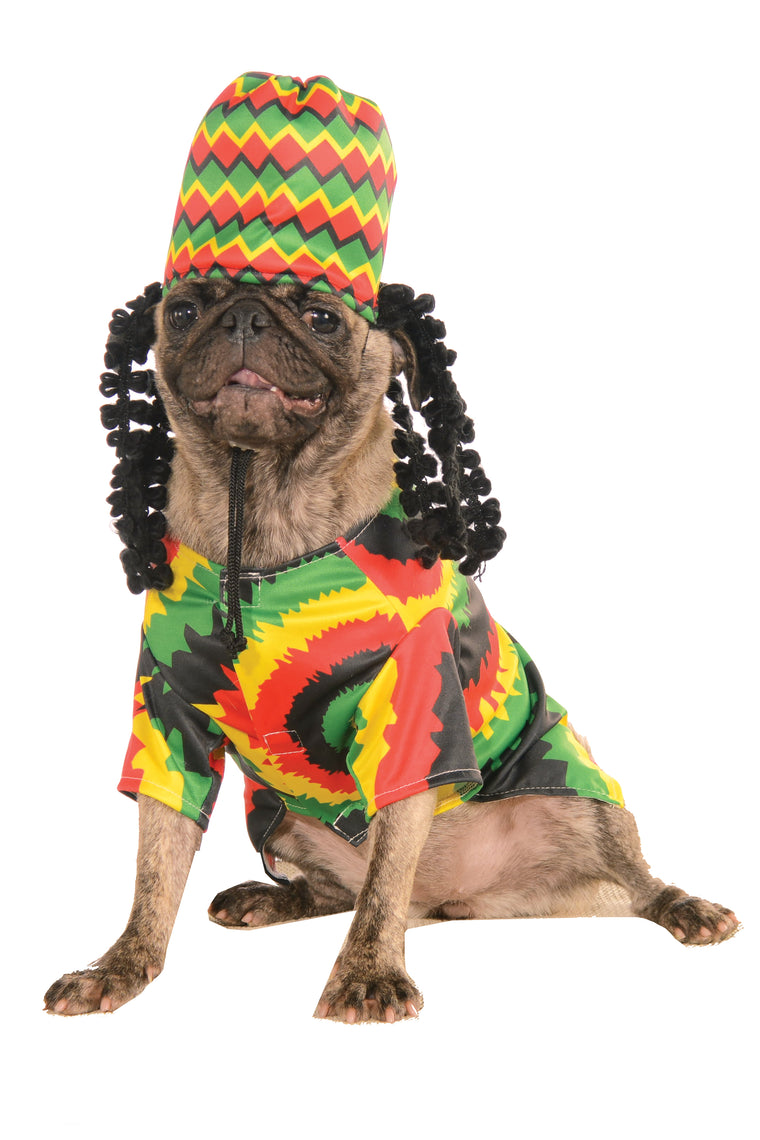 Rasta Pet Costume - Multi