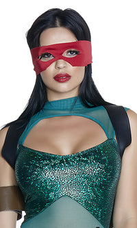 Turtle Mask - Red