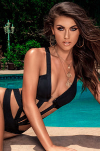 Sweet Surrender Monokini - Black