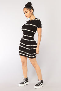 Want Me Bad Mini Dress - Black