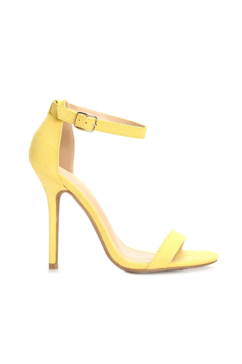 The Last Word Heel - Yellow