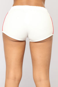 My Type Low Rise Shorts - White