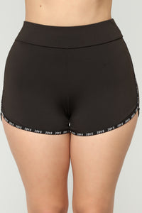 Nataly Active Shorts - Black
