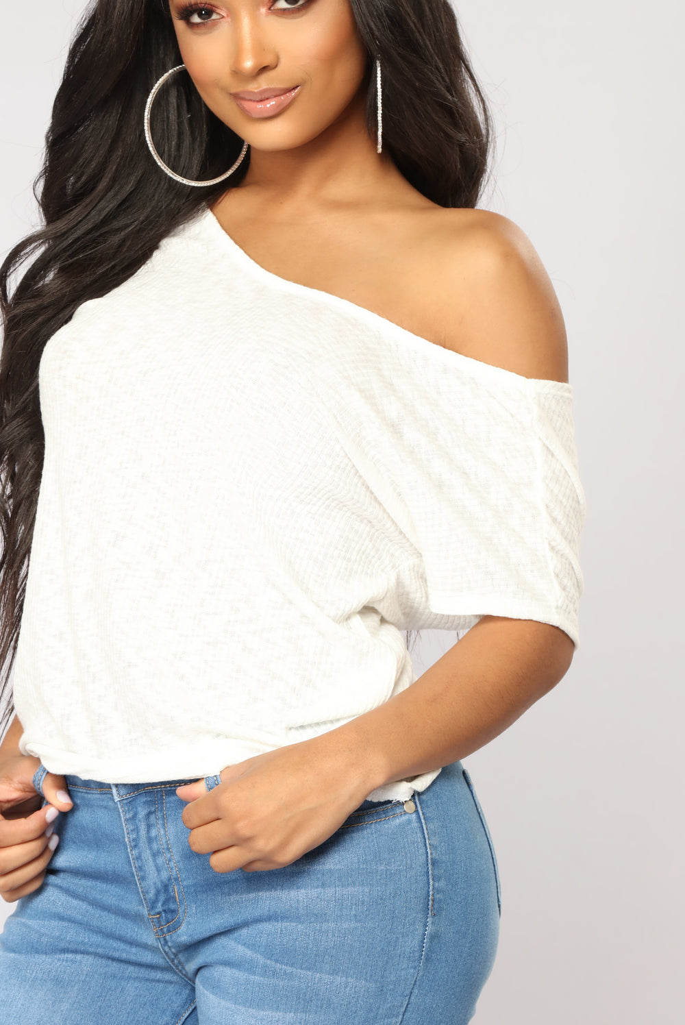 Do Not Wait For Me Top - Ivory