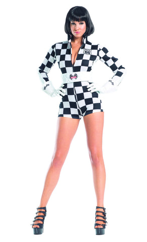 Speedy Racer Costume - Black/White