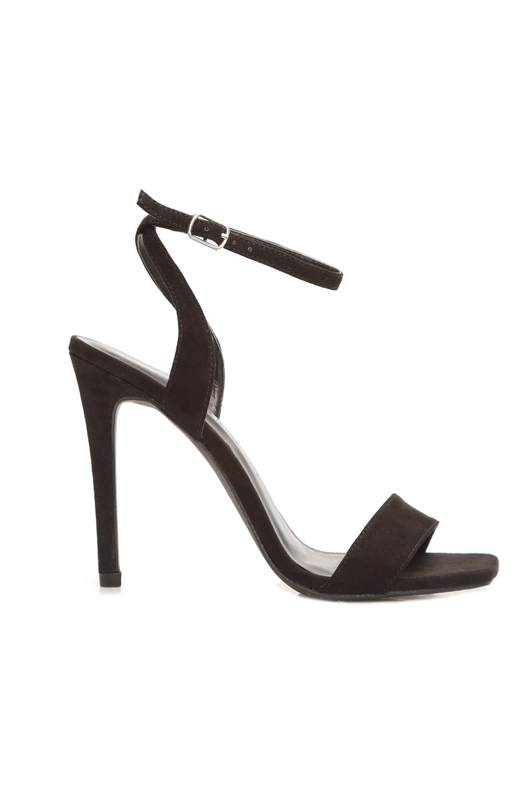Lie To Me Heels - Black