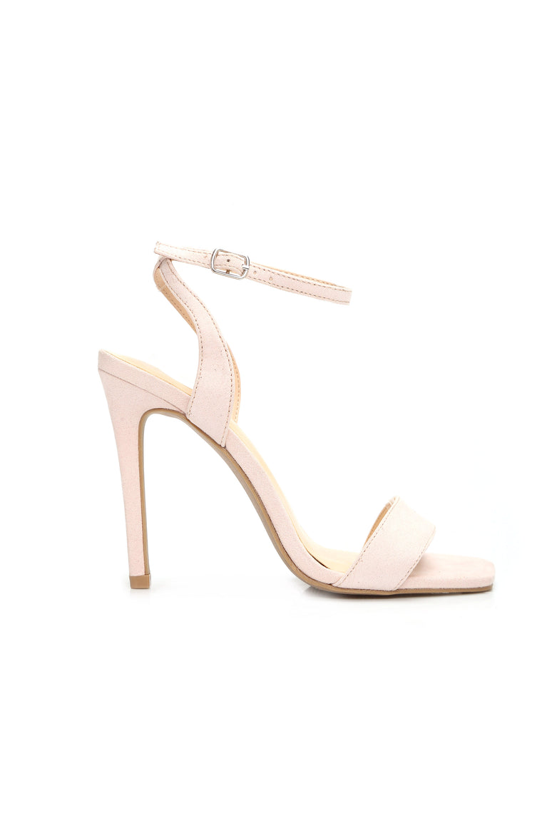Lie To Me Heels - Nude