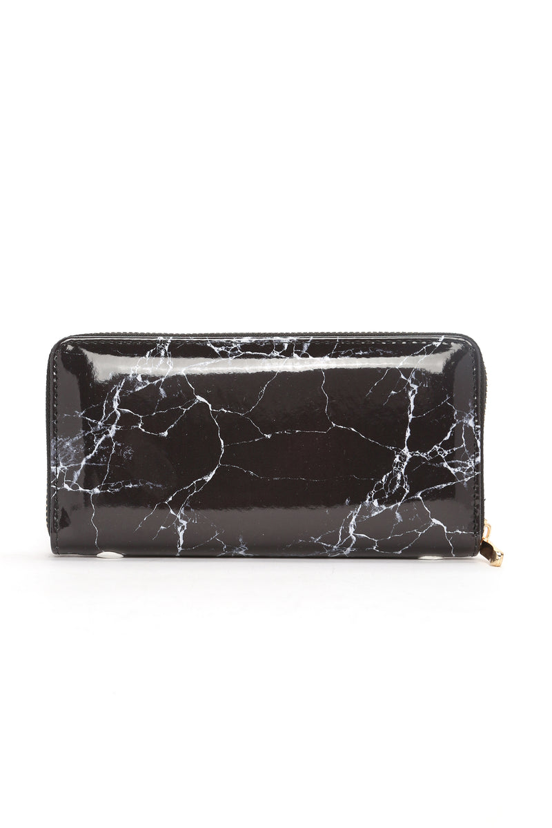 Hard Rock Marble Wallet - Black