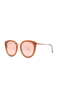 Don't Fear The Moon Sunglasses - Rose Gold