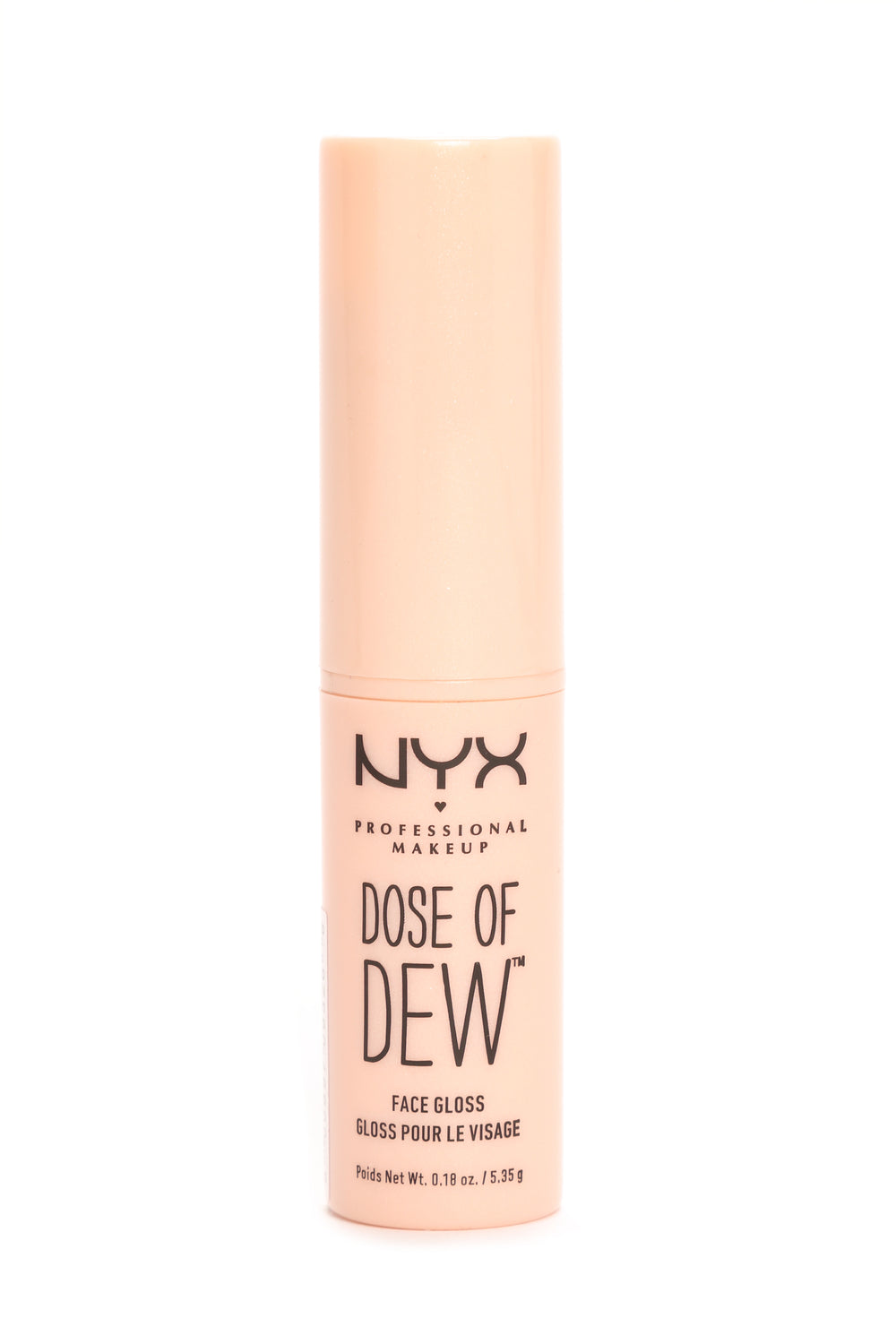NYX Dose Of Dew Face Gloss - Nude
