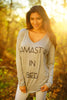 Namastay Top - Heather Grey