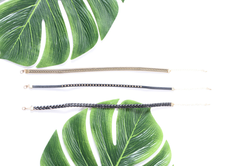 Weho Choker Set - Black