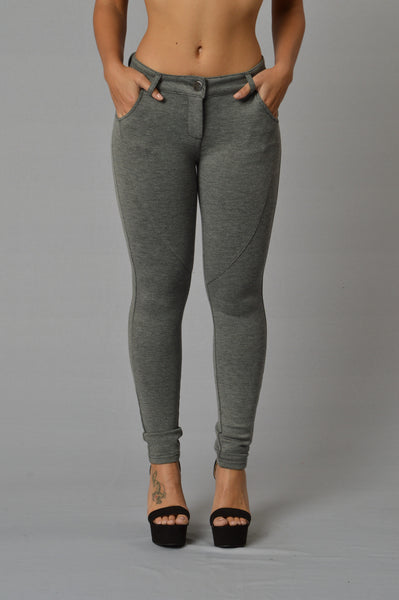 Empire Pants - Grey