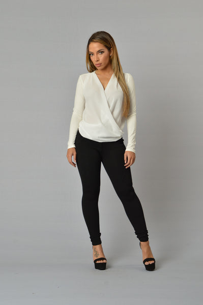 So Sophisticated Blouse - White
