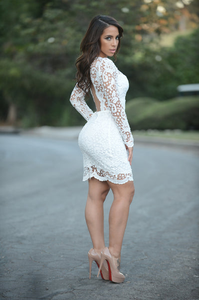 Coquette Dress - White