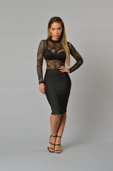 Breach Bodysuit - Black