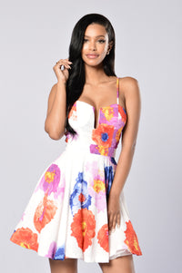 Whimsical Dress - Floral