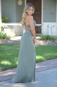 Lorena Dress - Olive