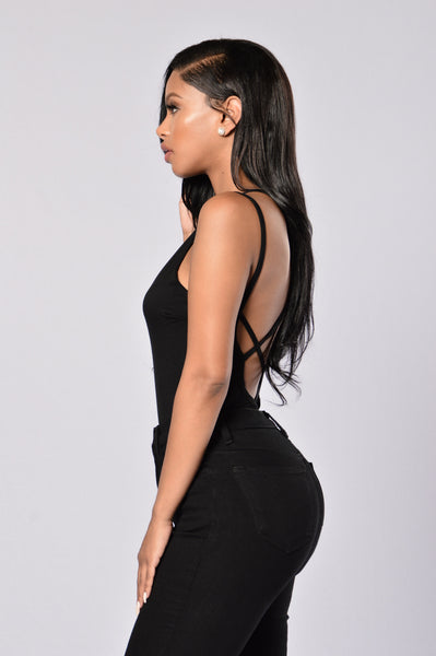 Crush Bodysuit - Black