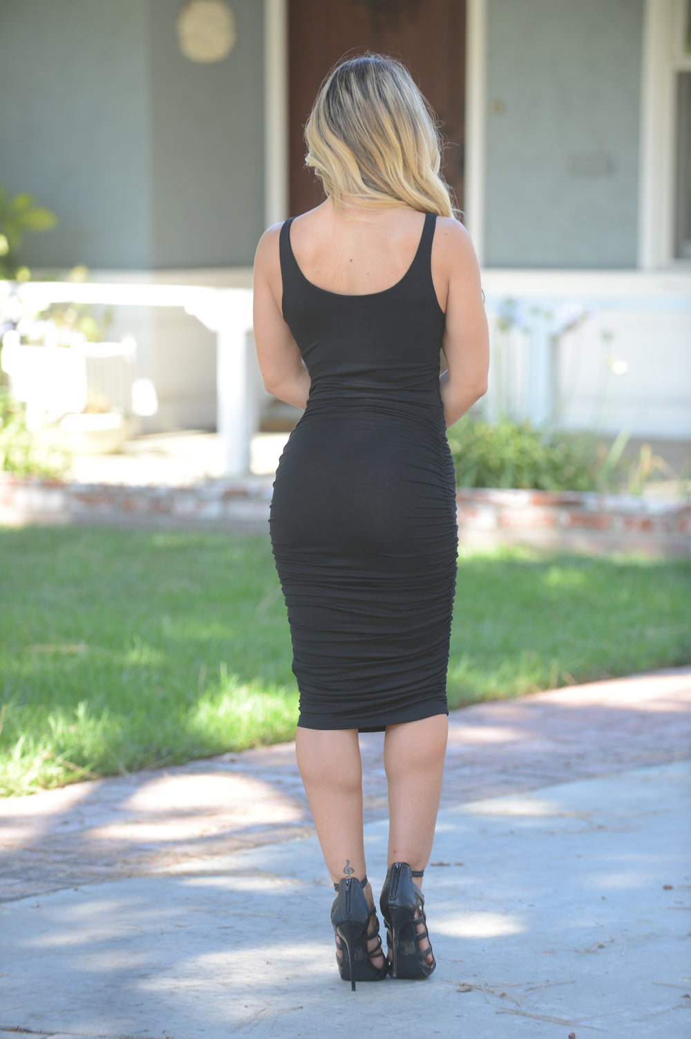 Roseanne Dress - Black