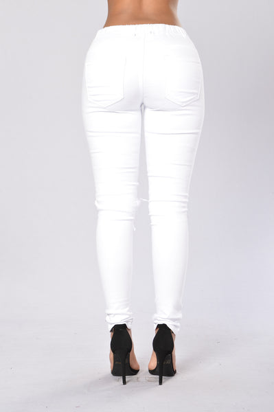 Marvin Joggers - White