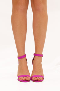 Strapped Success Heel - Pink