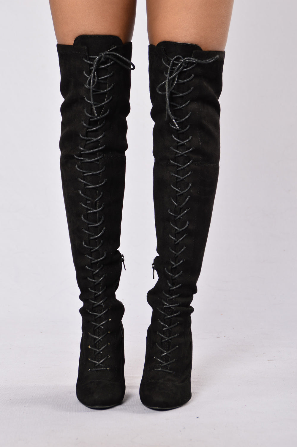 Love Me Long Time Boot - Black