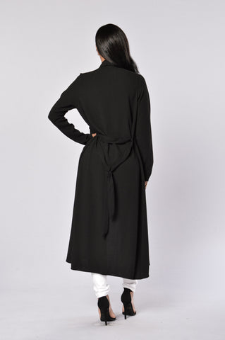 Business Casual Coat - Black