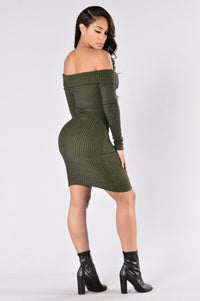 Ave Maria Dress - Olive