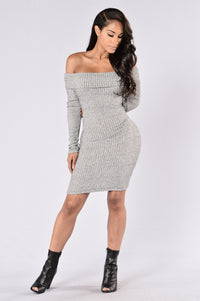 Ave Maria Dress - Grey
