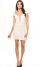 Party Down Dress - Ivory