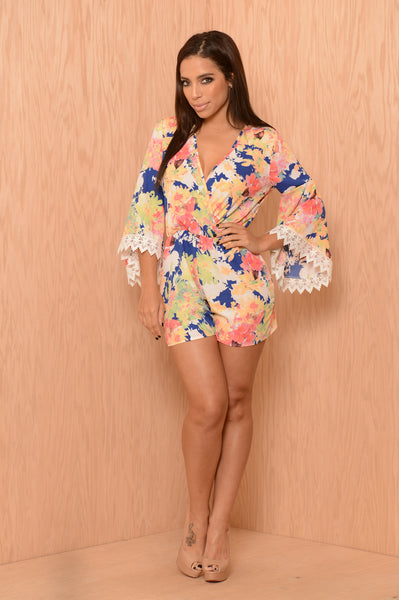 Kauai Romper - Royal