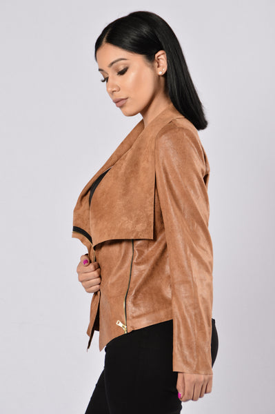 Saddle Up Jacket - Camel