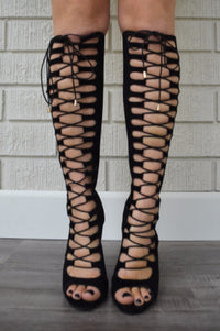 Sunset Heel - Black
