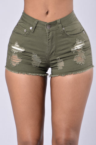 All Summer Shorts - Olive