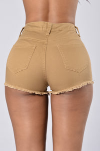 All Summer Shorts - Wheat