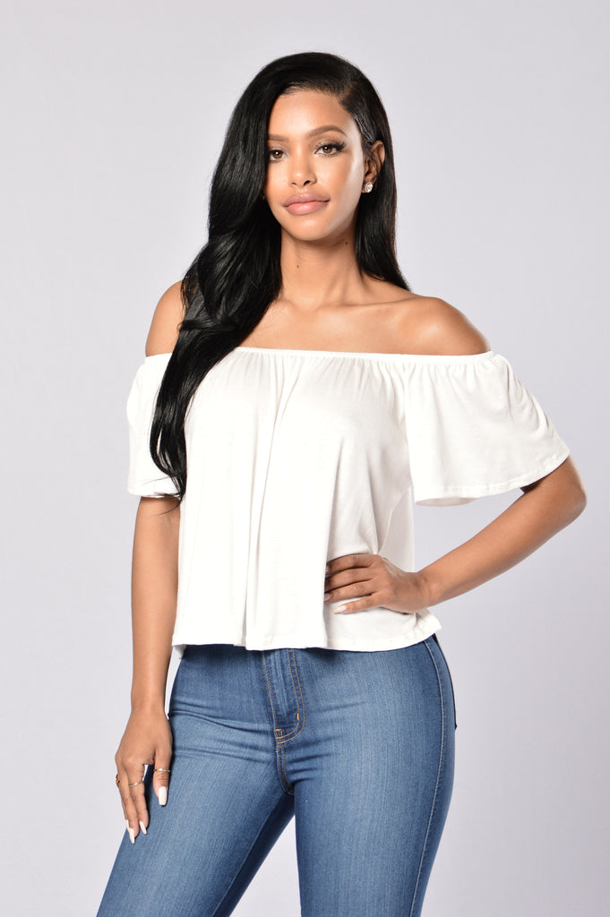 Off Broadway Top - Off White