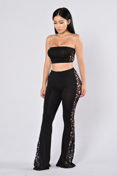 Flirty Side Set - Black