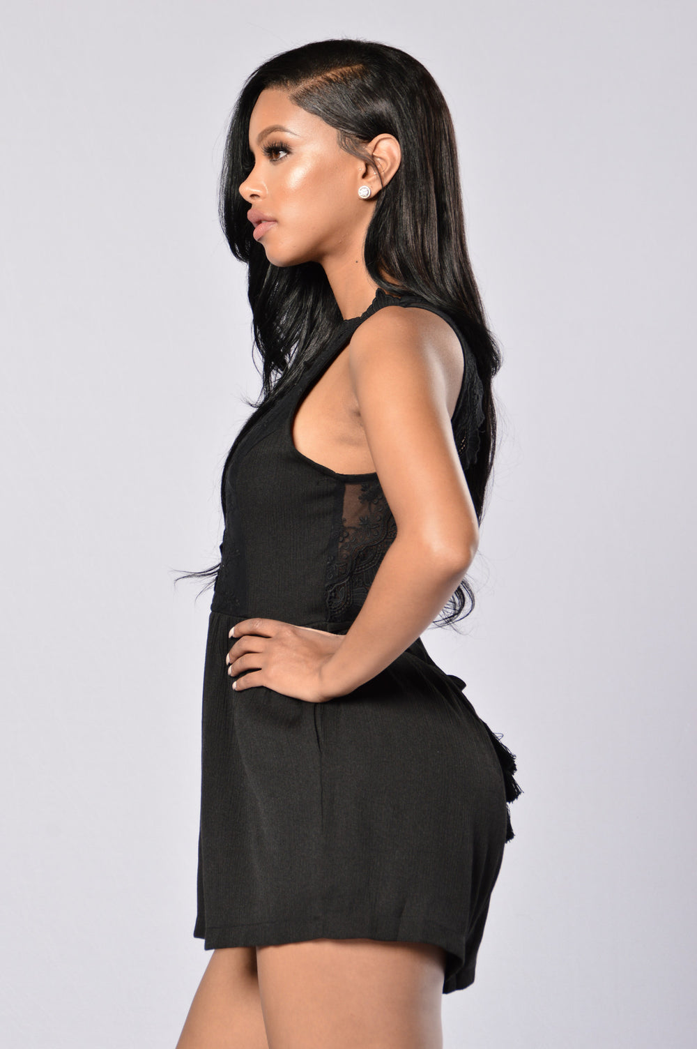 Darkest Hour Romper - Black