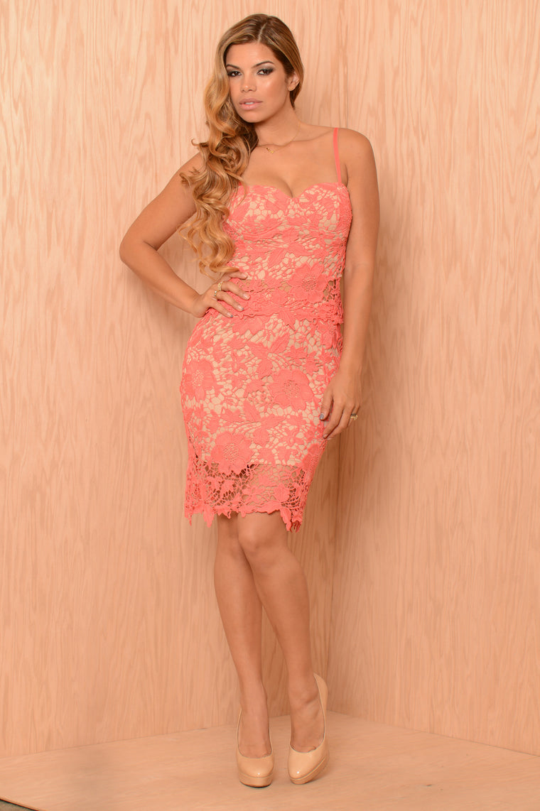 Melody Skirt - Coral