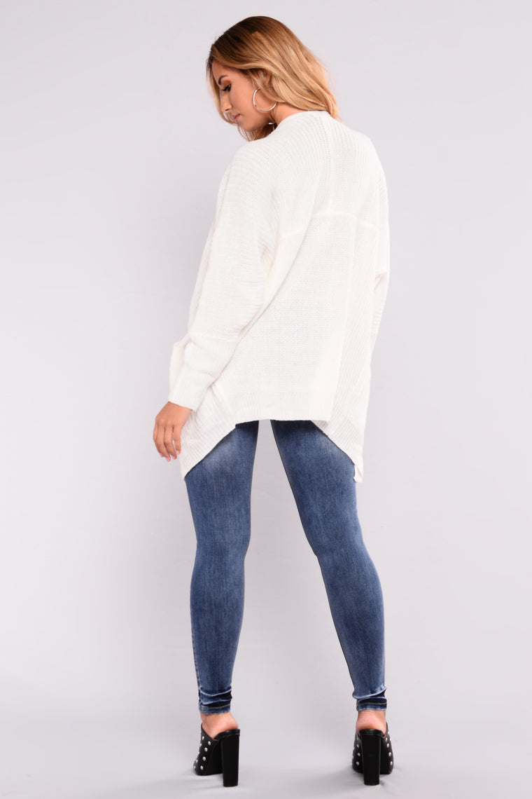 Reserved For You Cardigan - Off White